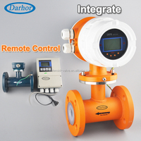 USA standard LCD display electromagnetic flow meter china supplier