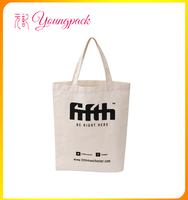 promotional 100% recyclable custom organic cotton bag