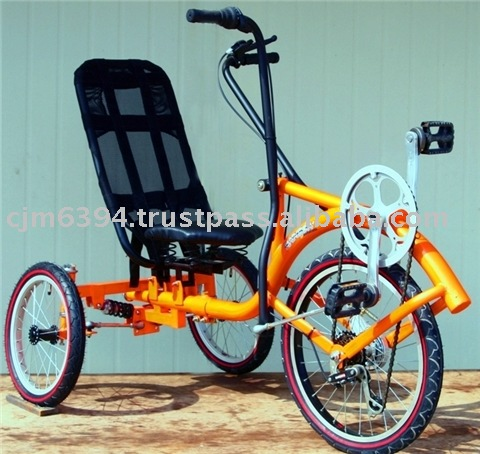 [KITA] Hand & foot recumbent tricycle