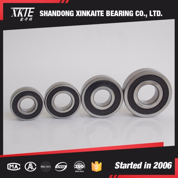 high Quality 6307 2RS/2RZ deep groove ball bearing with unique Iron cage from bearing manufacturer