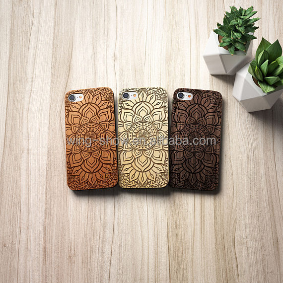 unique design diy wooden cell phone case,wholesales wooden covers for iphone 7