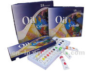 18 colors oil painting oil color tubesoil colour set with neutral packing