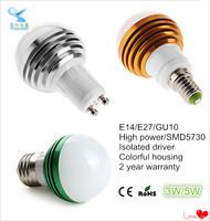 kinds of energy saving lamps smd5730 5w led bulb light e27 12v light bulb