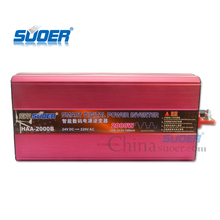 Suoer Factory dc24V to ac 220V power converter inverter 2000W solar panel inverter