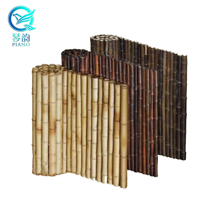 bamboo fence 6 ft rolls  with frame for patio