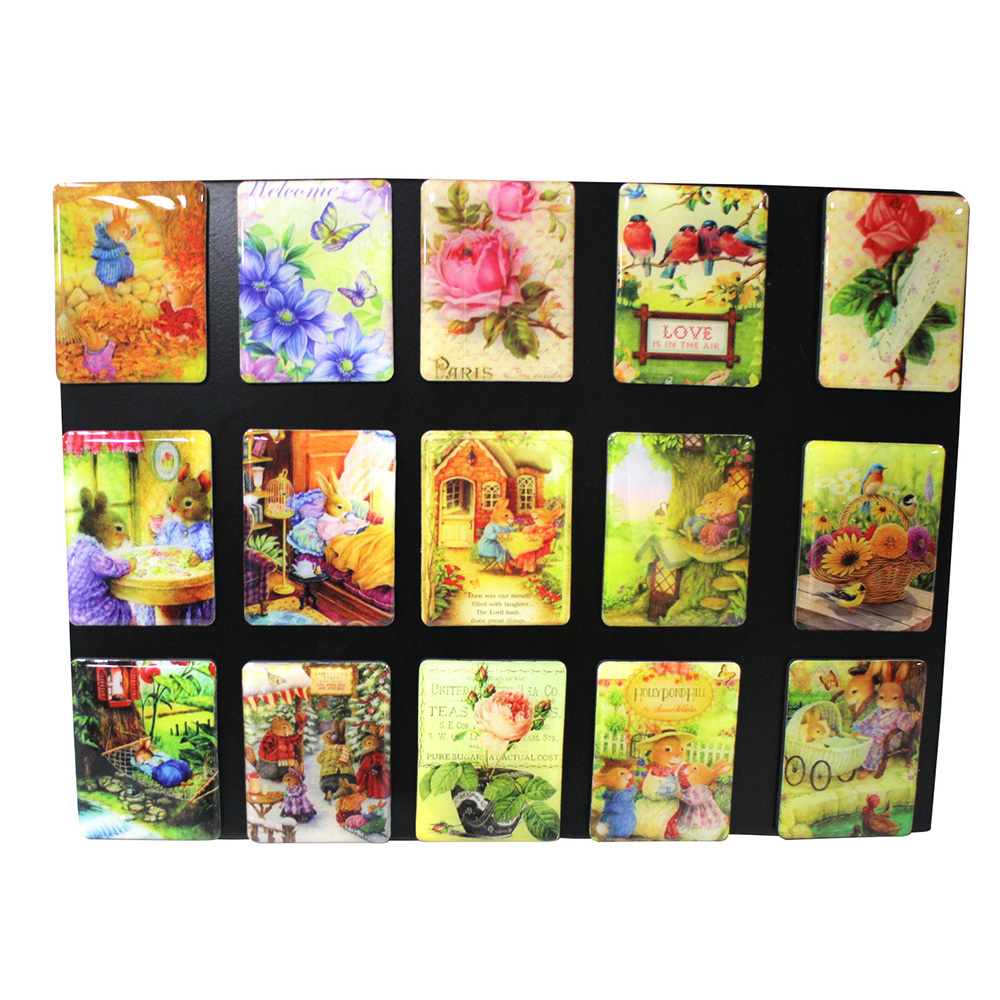 Customized Wholesale Custom Souvenir Colorful Printing Pvcwedding Return Cities Gift Fridge Magnet