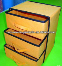 2012 non woven folding cosmetic drawers