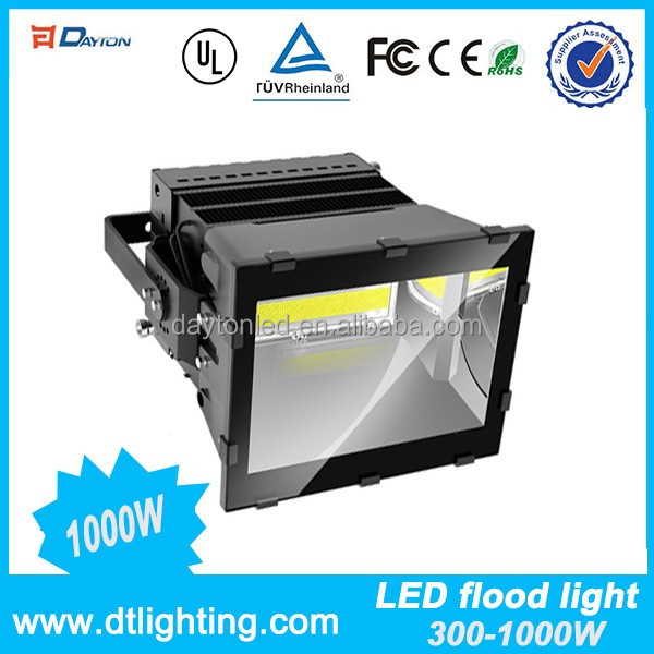 Factory Suitable Price Quality Meanwell Driver 1000W Waterproof IP66 LED flood light 1000W Outdoor LED Flood Light
