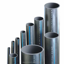 new material black hdpe pipe for water supply