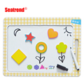 Hot sell Multi-function Magnetic Drawing board wih fridge magnet
