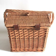 wholesale custom picnic wicker basket