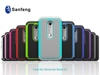 Factory cheap price 2d sublimation phone case for Moto g3 football case
