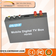 Fashion car dvb-t box car portable mobile iptv set top box