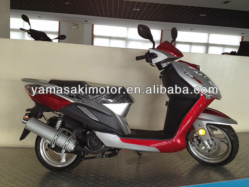 EEC 125cc scooter, 125cc gas scooter, YM50QT-K,yamasaki