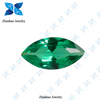Green marquise rough uncut gemstone spinel
