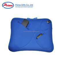 Custom Durable Shockproof Neoprene Laptop Bag with Three Exterior Pockets