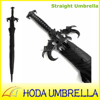 2015 fancy straight samurai sword Chinese traditional handle umbrella
