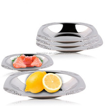 stainless steel soup bowl Square Dish plate