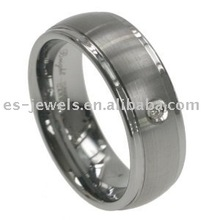 8mm Tungsten carbide Rings diamond
