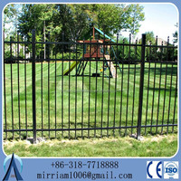 Corrugated Metal Fence/corrugated Steel Fence/curved Metal Fencing