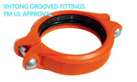 FM UL Approved Rolled Grooved Couplings Fittings