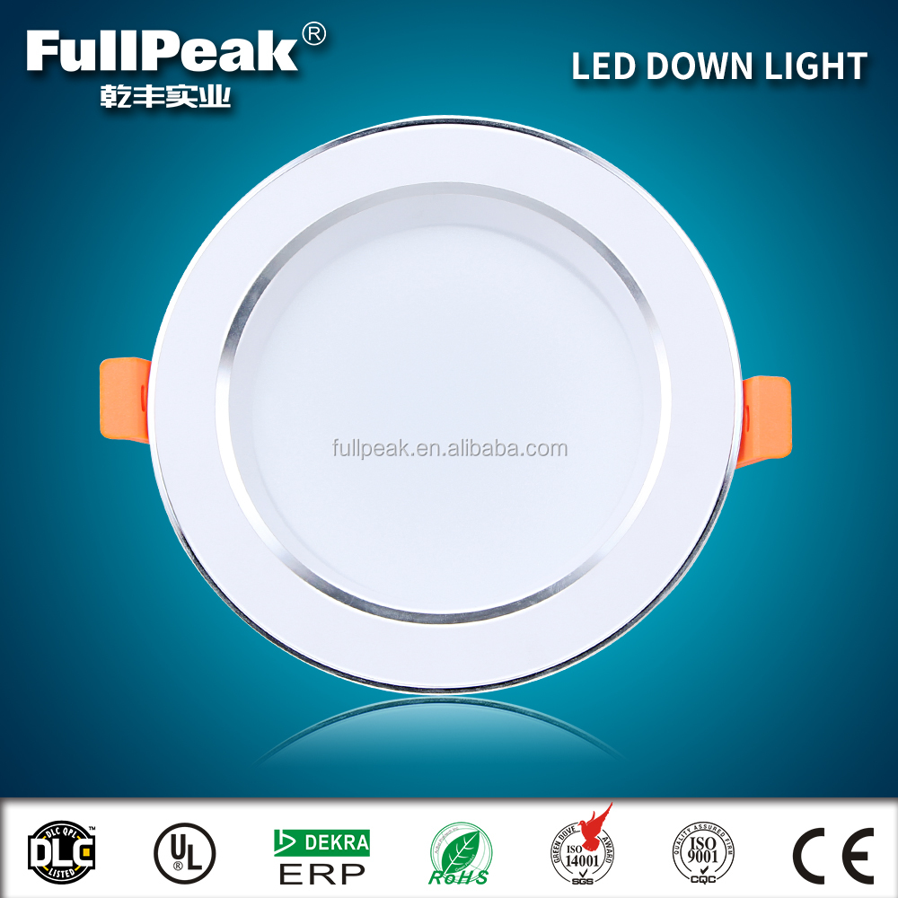 "ES ETL UL cUL 90Ra 5000K led downlight retrofit 2.5"" led recessed light fixture 6 inch"