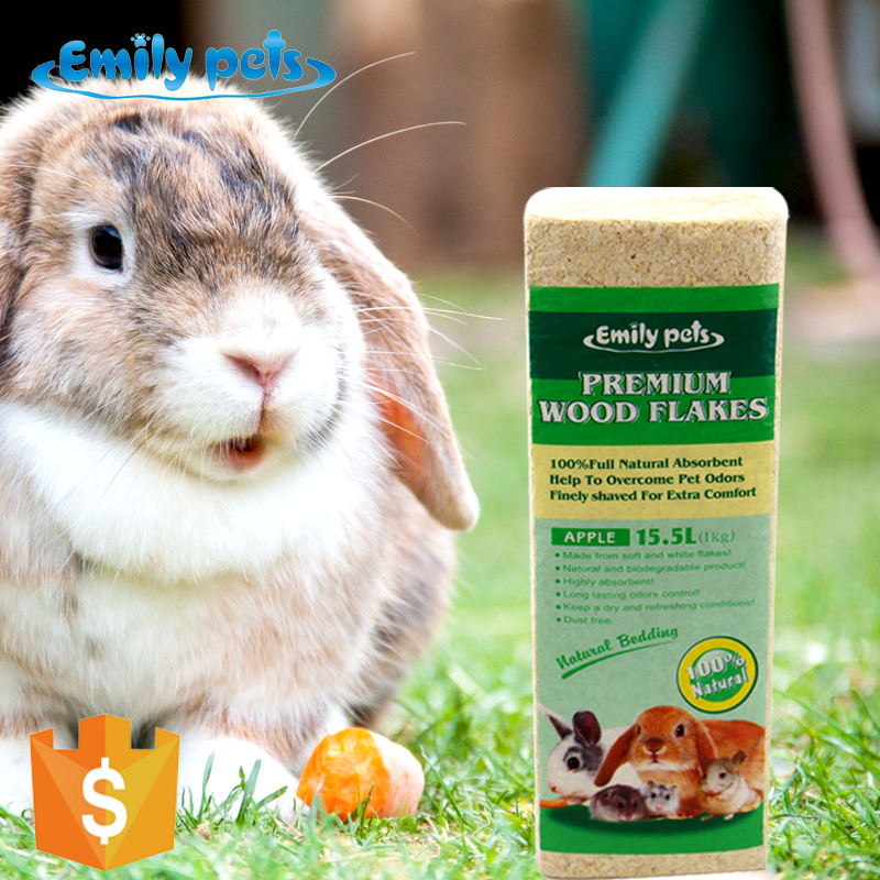 China Emily pets wood shavings pellet