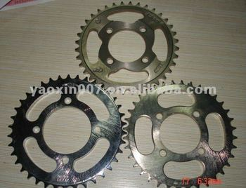 cheap high quality chain sprocket wheel of motorcycle parts