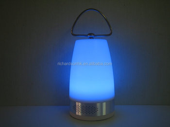 Camping Lantern with bluetooth speaker lamp