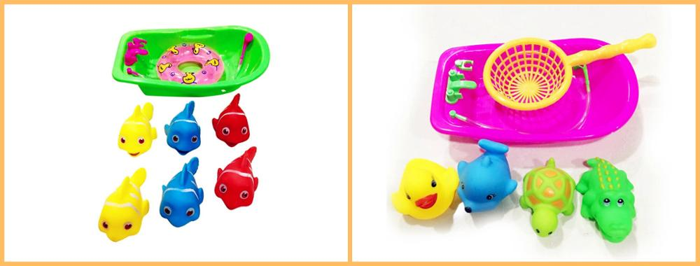 Cute Design Children Swimming Vinyl Animal Shape Baby Bath Toy For Promotion