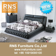 2015 RNS New Design Modern Leather Bed A853#
