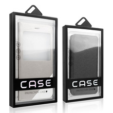 Luxury Plastic Mobile Phone Case Window Box phone case package High Quality