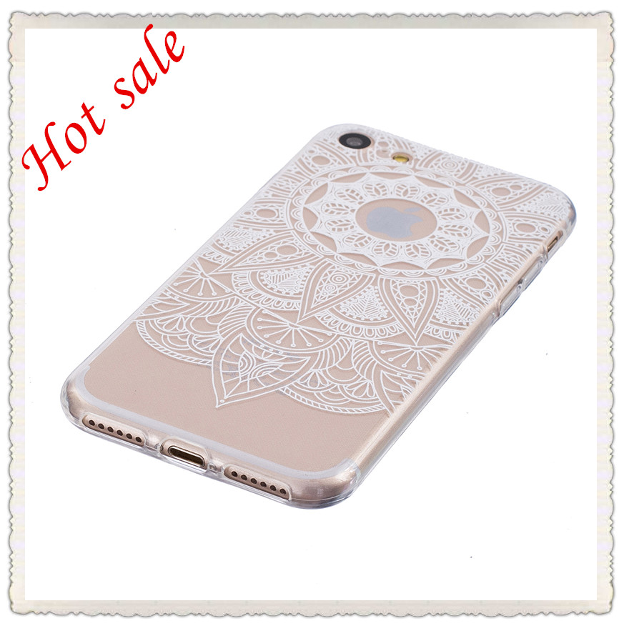 2017 custom Shockproof 360 Degree Full Cover Gel TPU Phone Case For Apple iPhone 7, For iPhone 7 Clear Back Case