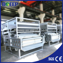 belt filter press for sludge sewage treatment oil chemical industry