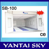 2015 big paint booth with CE from china powder coat spray booth for sale