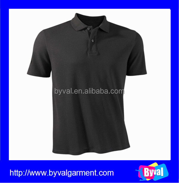 plain polo shirt custom golf polo shirt 100% cotton online shopping