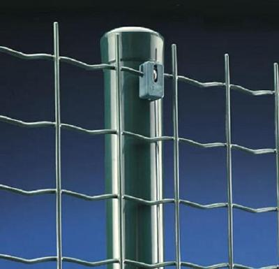 1/2 inch square hole green plastic vinyl coated welded wire mesh fence