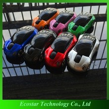 Personalized car shape wireless mouse wholesale optical wireless car model mouse