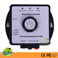 A-200 Smart electronic In-ground Pet Fencing System,wireless dog fence system with boundary flags
