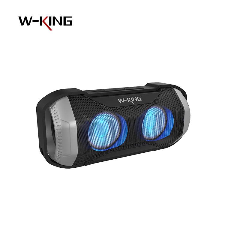 unique 2 <strong>drivers</strong> 6w black color IPX6 super bass bluetooth mp3 speaker