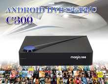 Magicsee C300 Amlogic S905D TV BOX + DVB-T2 + DVB-S2 + DVB-C set top box