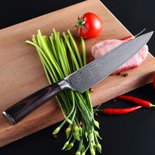 retail kitchen knife multi-purpose Damascus chef's knife