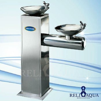 Freestanding Drinking Fountain