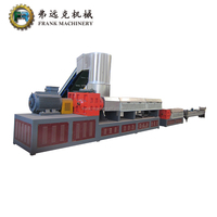 High quality PP PE film bag granulating machine plastic scraps pelletizing line