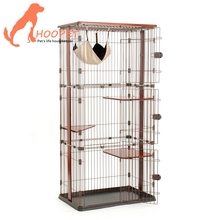 Hot Sale Elevated Custom Size Elegant Cute stainless steel dog cage