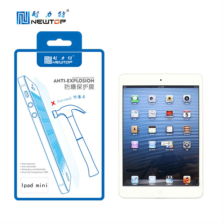 Factory ! For ipad mini screen protective film