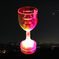 300ml FDA adult party led cheap champagne glasses