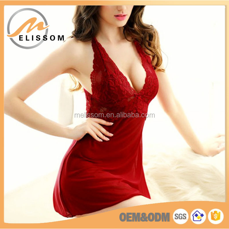 Wholesale Plus Size Cheap Nightwear Mature Sexy Babydoll Lingerie OEM/ODM