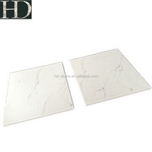 Volakas White Marble Porcelain Floor Tiles 600x600 Excellent Quality Full Polished Glazed Ceramic Tile