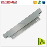 High Accuracy Aluminum Sheet Metal Brake Fabrication Laser Cutting Working